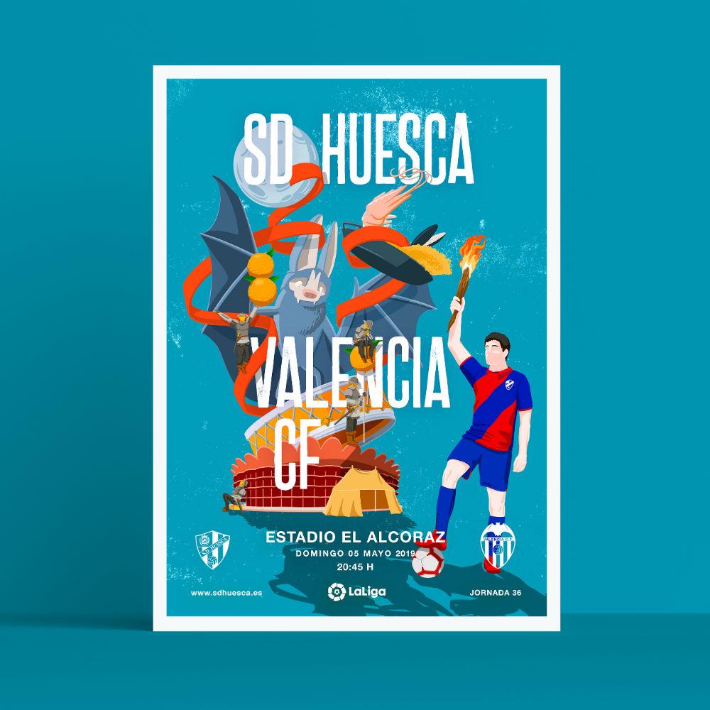 SD Huesca Valencia CF