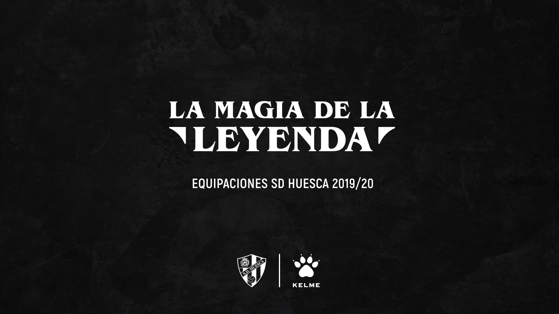 La magia de la leyenda - SD Huesca camisetas oficiales
